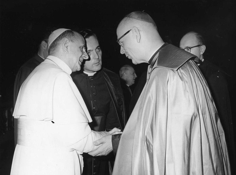 With Pope Paul VI - June 15, 1966